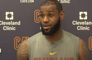 LeBron James Cavs Interview
