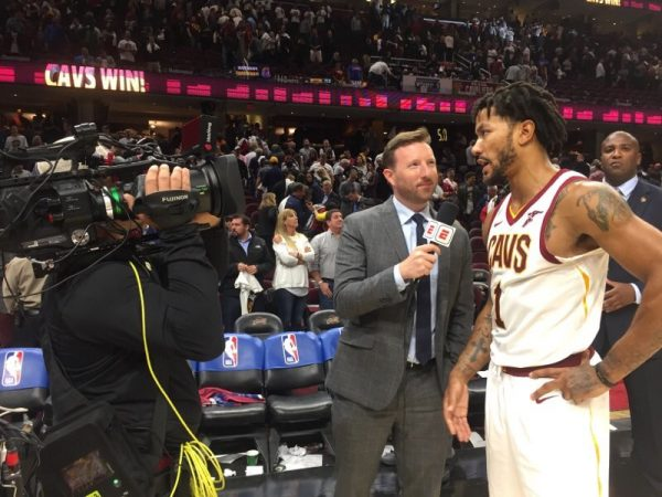 Derrick Rose Cavs Interview