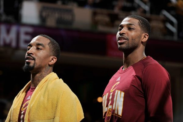 J.R. Smith and Tristan Thompson