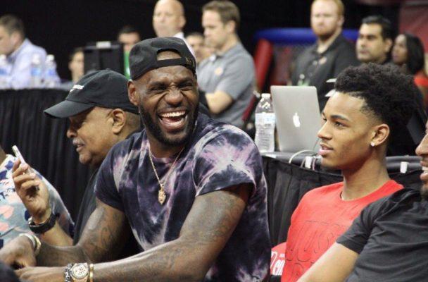LeBron James Summer League