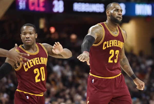 Kay Felder and LeBron James