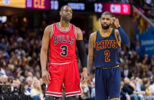 Dwyane Wade and Kyrie Irving Bulls
