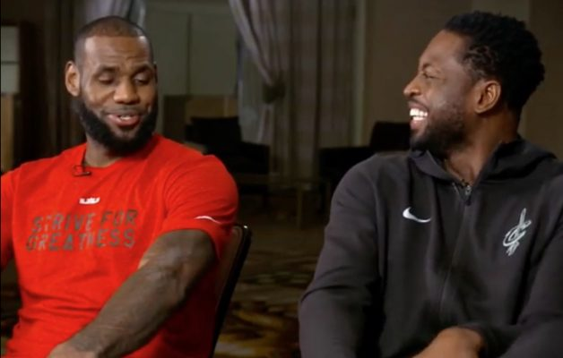 Video: LeBron James Responds to Dwyane Wade Calling Him Cheapest Guy in NBA