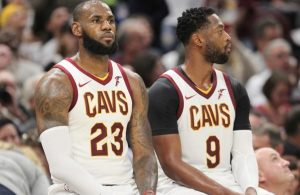 LeBron James and Dwyane Wade Cavs