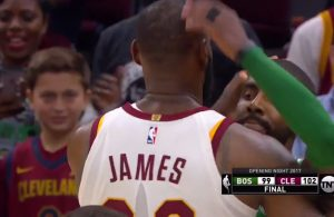 Video: LeBron James and Kyrie Irving Show Each Other Love After Game With Secret Handshake