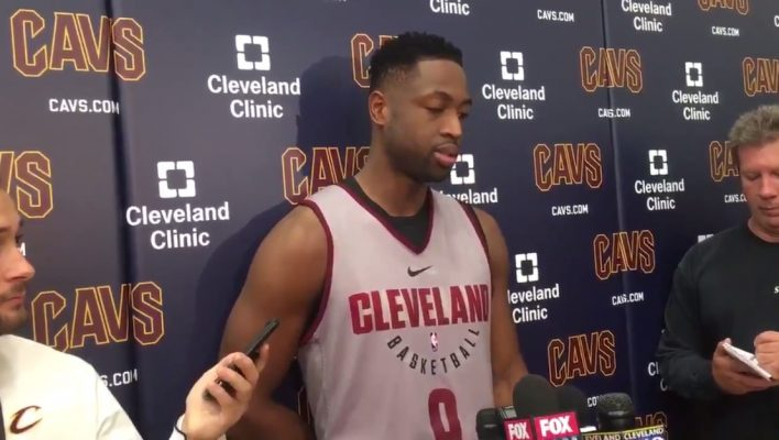 Dwyane Wade Cavs Media