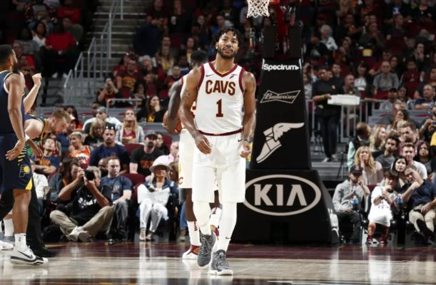 d6f7eea40afd Report  Cleveland Cavaliers Set New Timetable for Derrick Rose s ...
