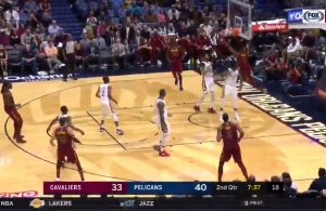 Video: Dwyane Wade Blows by Defender and Throws Down Vicious Dunk