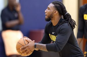 Jae Crowder Cavs Practice