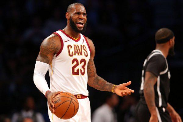 LeBron James Brooklyn Nets