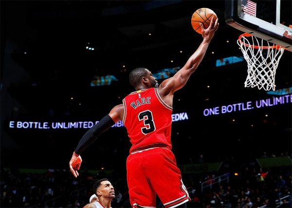 Dwyane Wade Layup Chicago Bulls