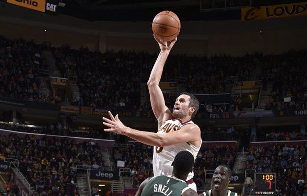 Kevin Love Milwaukee Bucks