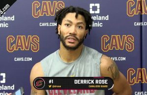 Derrick Rose Cavs Injury
