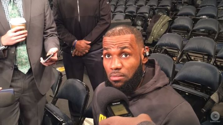 Video: LeBron James Takes Direct Shot at Phil Jackson Ahead of Game vs. Knicks
