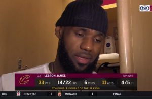 Video: LeBron James Weighs in on Team's Defensive Issues as Cavs Lose 4th Straight
