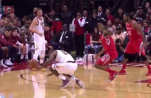 LeBron James Ankle Sprain Rockets