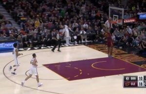 LeBron James Missed Windmill Dunk