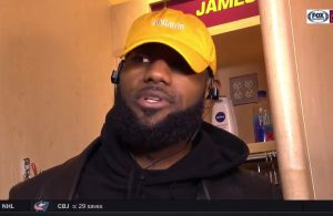 LeBron James Reacts to Being Ejected for First Time in Career