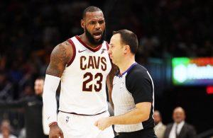 LeBron James Referee Kane