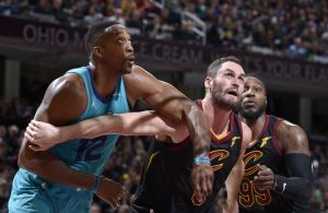 Dwight Howard and Kevin Love