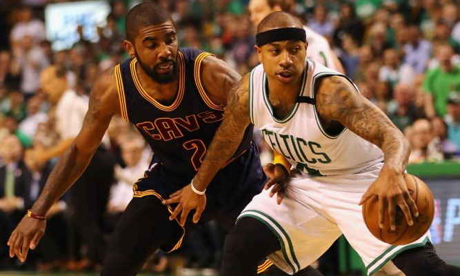 Kyrie Irving and Isaiah Thomas