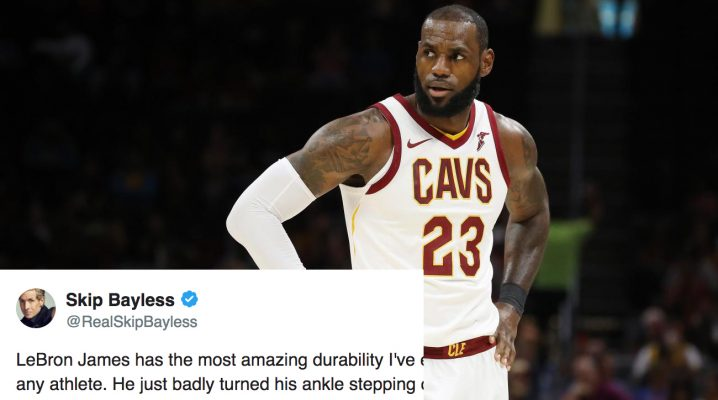 LeBron James Skip Bayless