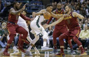 Cavs Defense Giannis Antetokounmpo