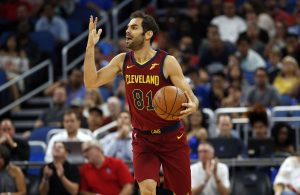 Jose Calderon Cleveland Cavaliers