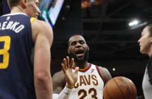 LeBron James Cavs vs. Jazz