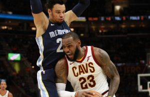 LeBron James Memphis Grizzlies