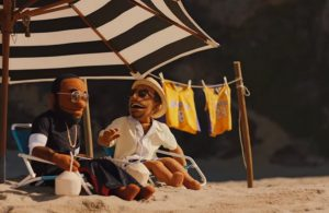 LeBron James and Kobe Bryant Puppet Commercials