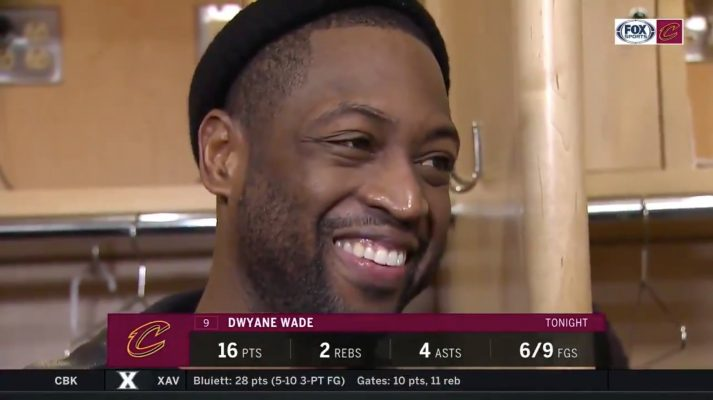 Dwyane Wade Cavs Interview