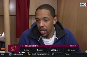 Channing Frye Interview Cavs