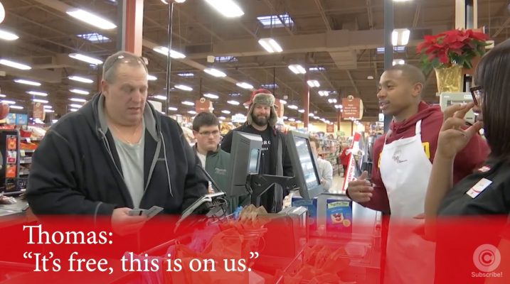 Video: Watch Isaiah Thomas and J.R. Smith Surprise Holiday Shoppers