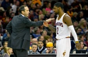 David Blatt and Kyrie Irving Cavs