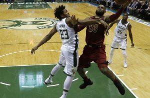 LeBron James vs. Bucks