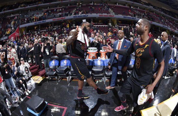 LeBron James vs. Dwyane Wade Cavs