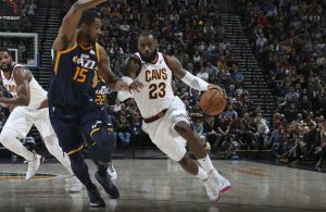 LeBron James vs. Utah Jazz