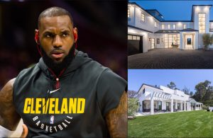 LeBron's brand new $23 million Los Angeles mansion