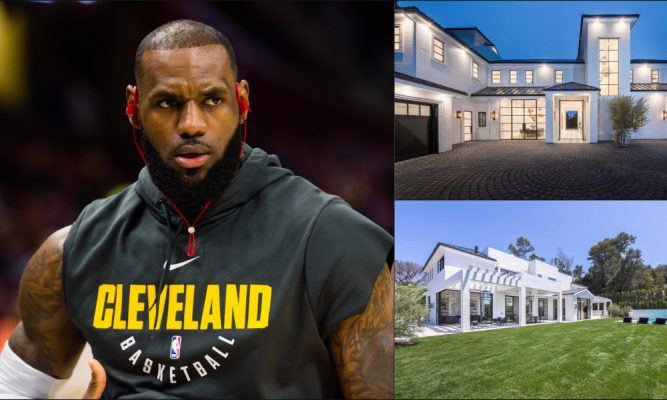 LeBron's brand new $23 million Los Angeles mansion