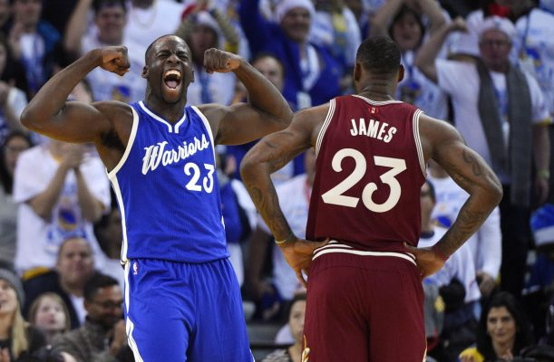 Draymond Green and LeBron James