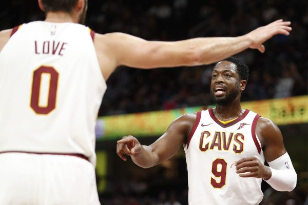 Dwyane Wade and Kevin Love Cavs