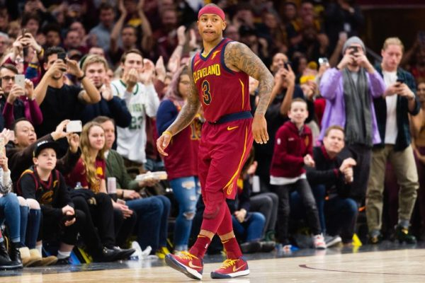 Isaiah Thomas was ejected for karate chopping Andrew Wiggins