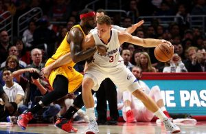 LeBron James and Blake Griffin Cavs Clippers