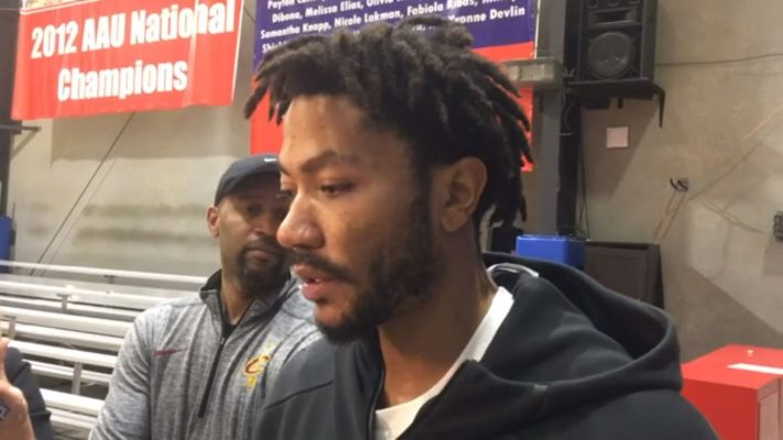 Derrick Rose says he's improving: 'I'm running and conditioning every day'
