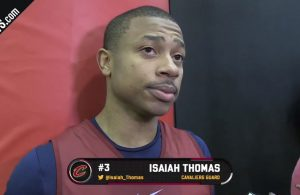 Isaiah Thomas Cavs Interview