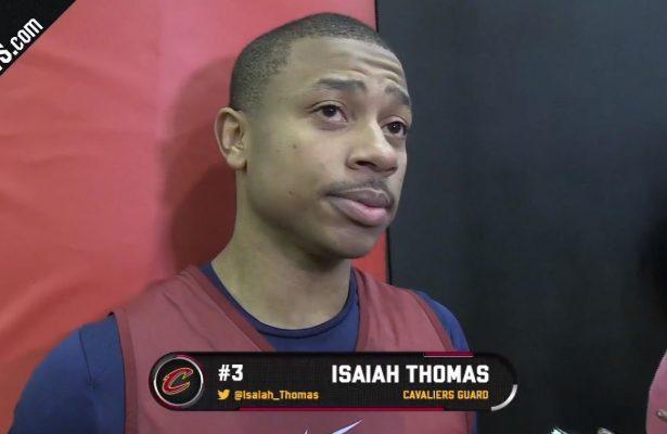 Isaiah Thomas Cavs Interview