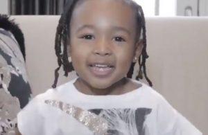 LeBron's Daughter Zhuri James