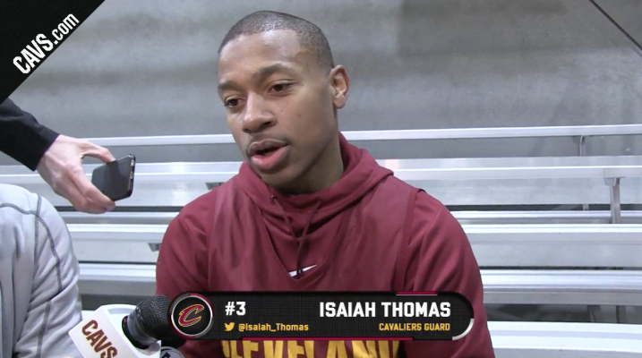 Isaiah Thomas Admits That His Hip Is Just '80 Percent' Healthy