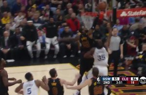 VIDEO: LeBron James Rejects Kevin Durant With Nasty Chase-Down Block